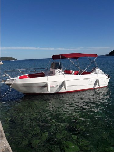 Boat for rent Blumax (Bluline) 21.0 feet in Istra,
