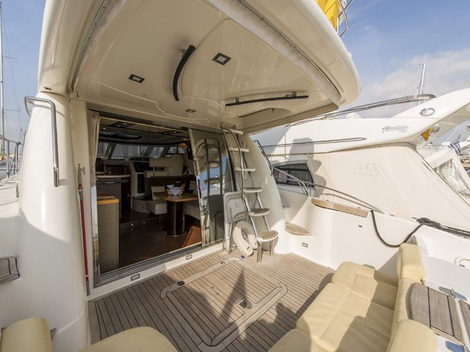 Motor yacht boat rental in Athens - Marina Alimos (Kalamaki), Greece