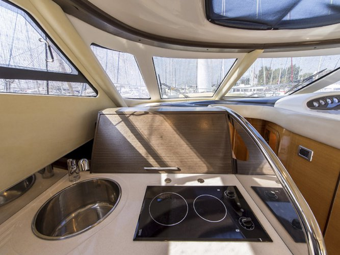 Motor yacht boat for rent in Saronic Gulf