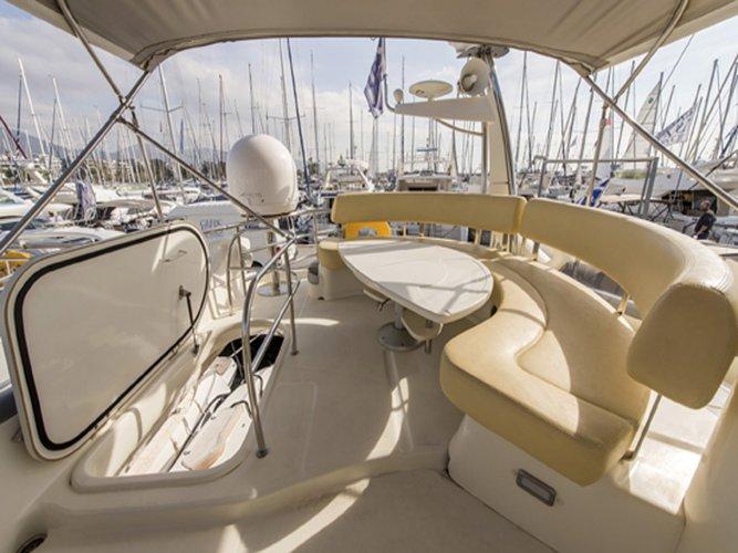Cranchi's 51.0 feet in Saronic Gulf