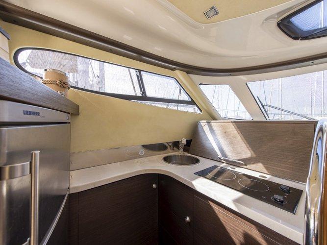 Discover Saronic Gulf surroundings on this Cranchi Atlantique 50 Cranchi boat