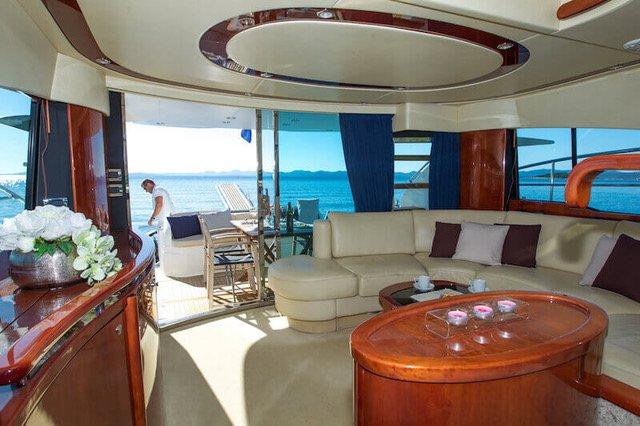Boat for rent Fairline Boats 58.0 feet in Marina Dalmacija, Sukosan,
