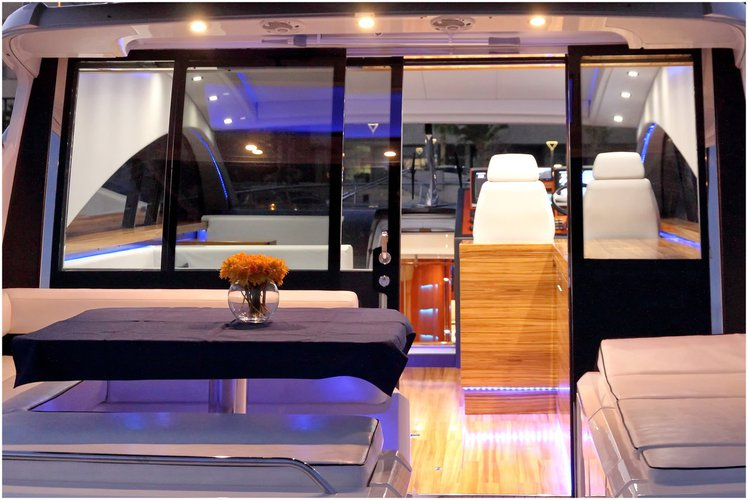 Motor yacht boat for rent in Split region