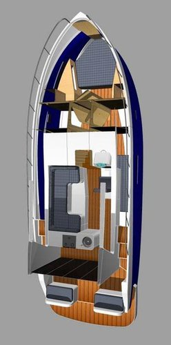 This 36.0' Futura Yachts cand take up to 8 passengers around Zadar region