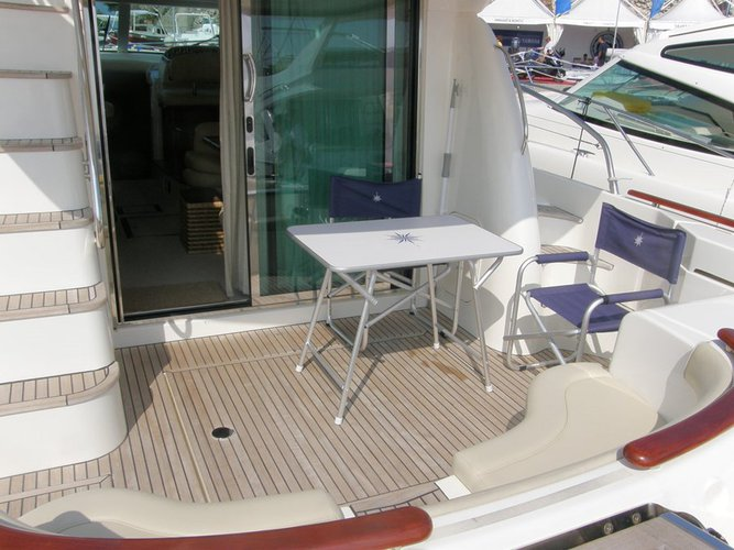 Discover Split region surroundings on this Prestige 46 Fly Jeanneau boat