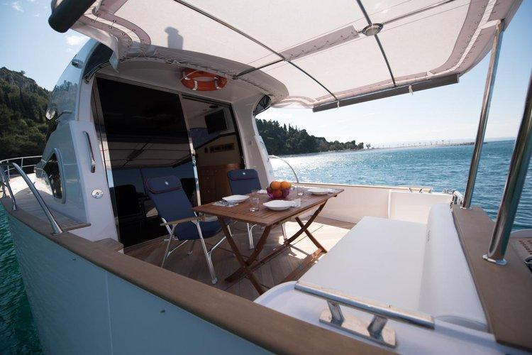 Discover Split region surroundings on this Issa 45 Monachus boat