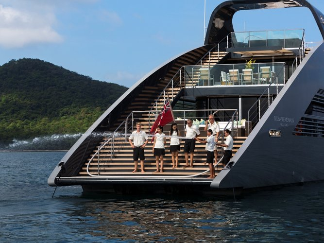 Boat for rent Norman Foster 135.0 feet in Ocean Marina Yacht Club, Thailand