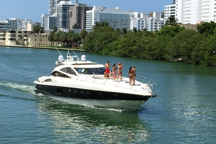 Boat for rent SUNSEEKER 70.0 feet in island Gardens Marina, FL