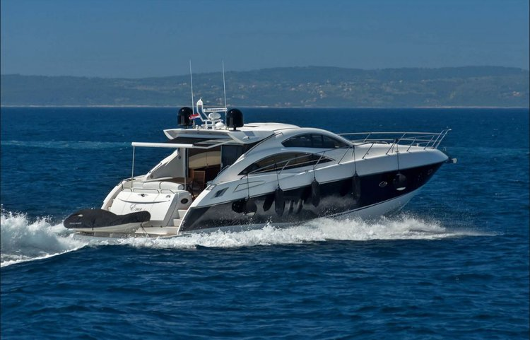 Enjoy Split region to the fullest on our Sunseeker Internationa