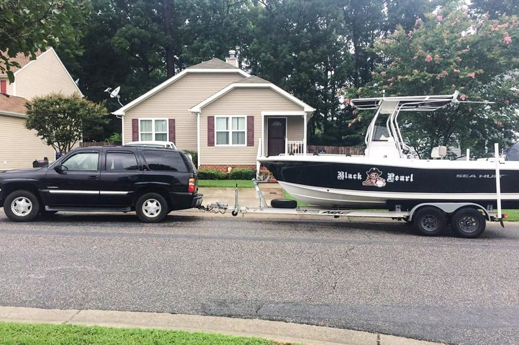 Boat for rent sea hunt 21.5 feet in Moyock, NC
