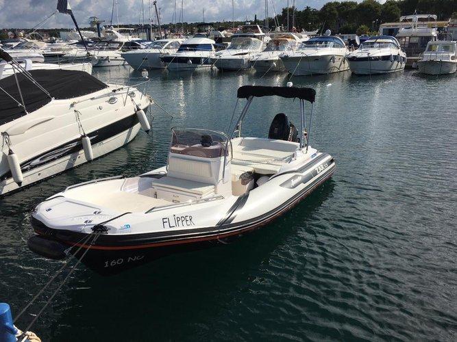 Boat for rent ZAR FORMENTI SRL 17.0 feet in Marina Kornati, Biograd,