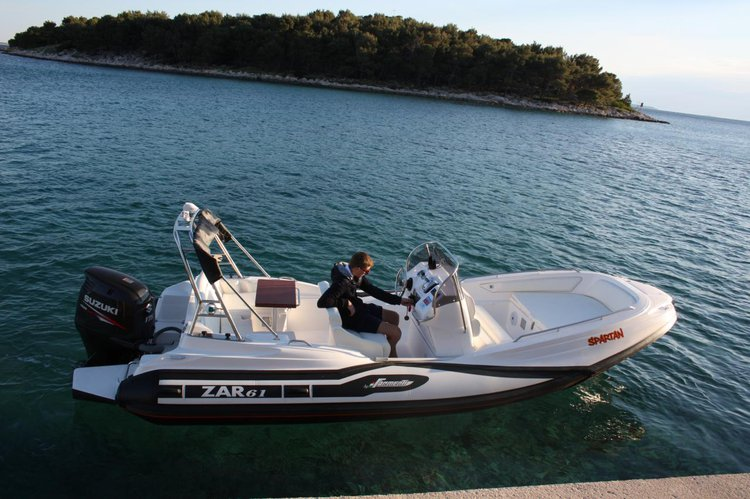 Boat for rent ZAR FORMENTI SRL 20.0 feet in Marina Kornati, Biograd, Croatia