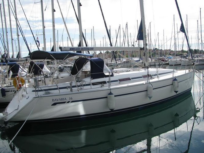 Enjoy luxury and comfort on this Bavaria Yachtbau in Kvarner