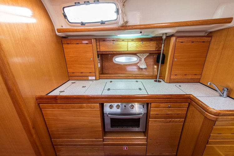 Discover Saronic Gulf surroundings on this Bavaria 39 Cruiser Bavaria Yachtbau boat