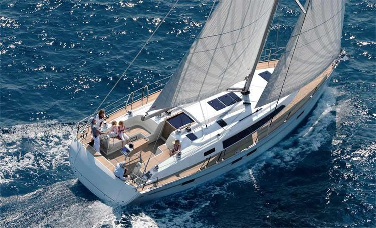 Experience Ionian Islands on board this Bavaria Yachtbau