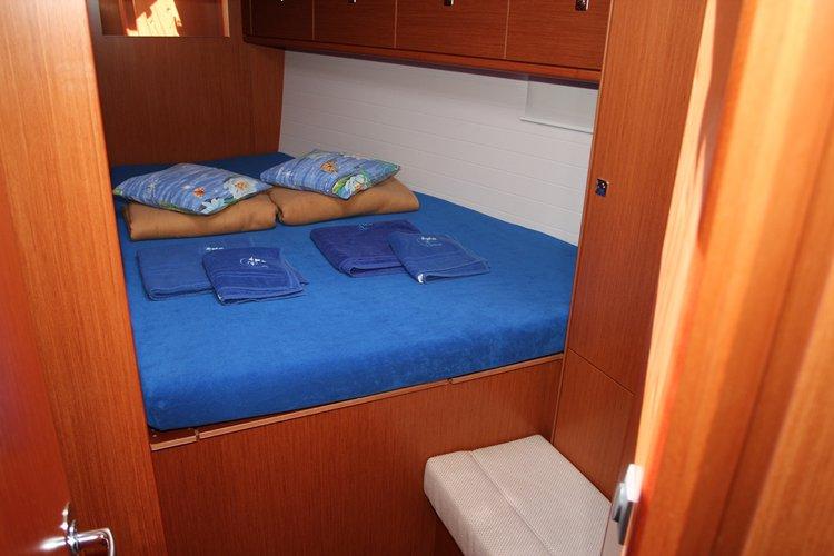 This 46.0' Bavaria Yachtbau cand take up to 8 passengers around Split region
