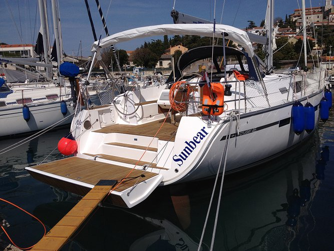 Sail the waters of Split region on this comfortable Bavaria Yac