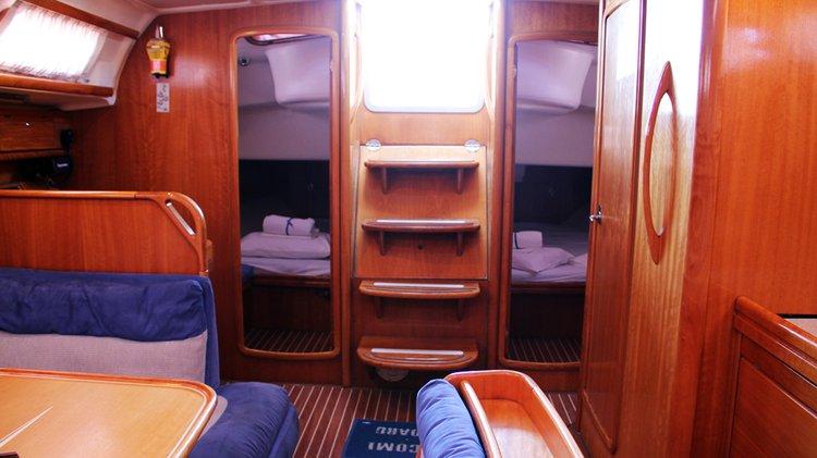 Discover Dodecanese surroundings on this Bavaria 46 Cruiser Bavaria Yachtbau boat