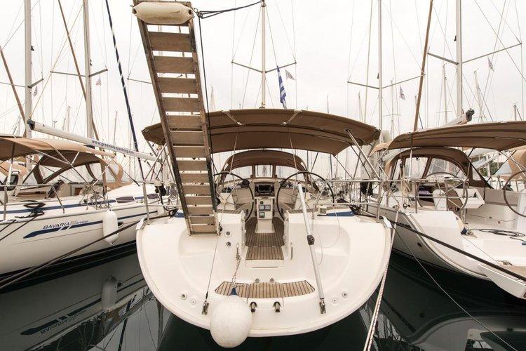 Discover Saronic Gulf surroundings on this Bavaria 46 Cruiser Bavaria Yachtbau boat