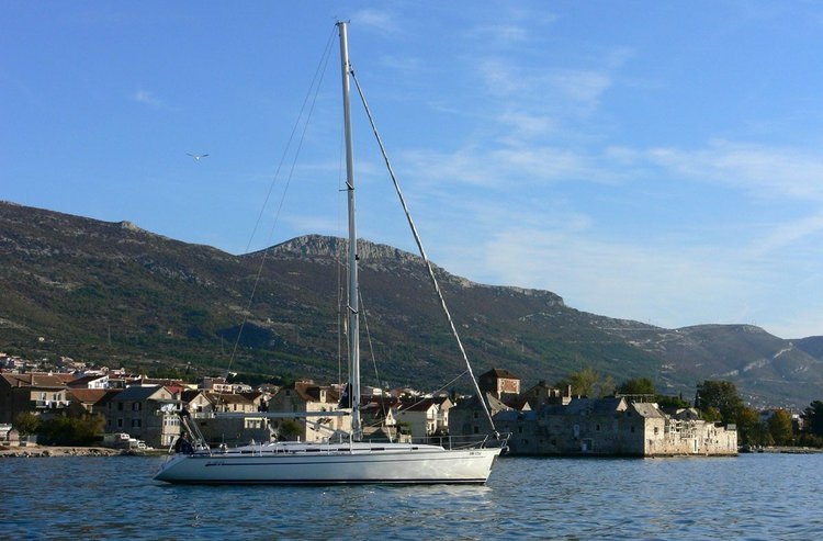 Discover Saronic Gulf surroundings on this Bavaria 49 Bavaria Yachtbau boat