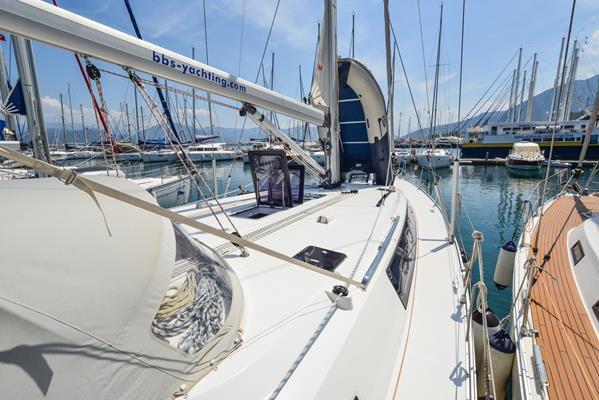 This 49.0' Bavaria Yachtbau cand take up to 10 passengers around Aegean