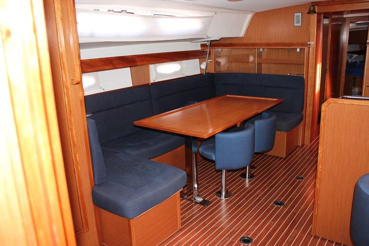 This 49.0' Bavaria Yachtbau cand take up to 10 passengers around Split region