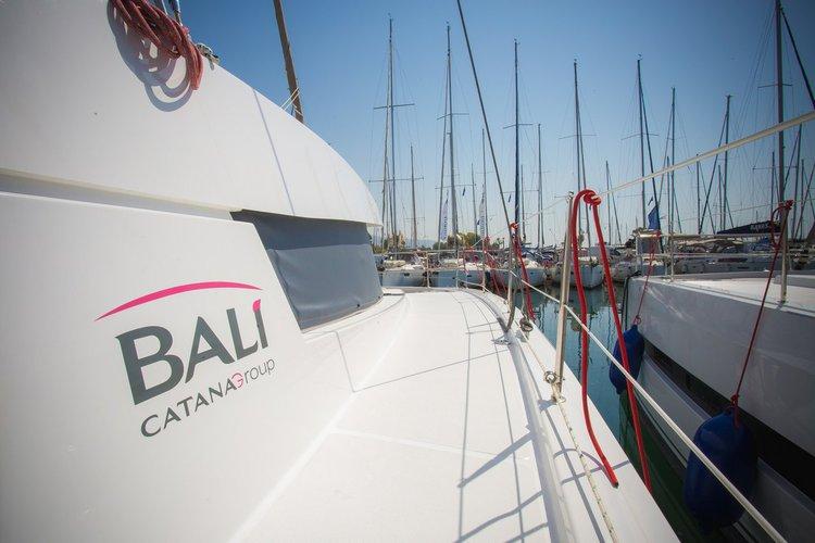 Boating is fun with a Catamaran in Ionian Islands