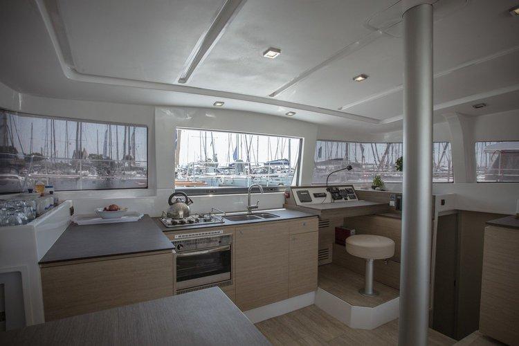 Catamaran boat rental in Marina Alimos (Kalamaki), Greece