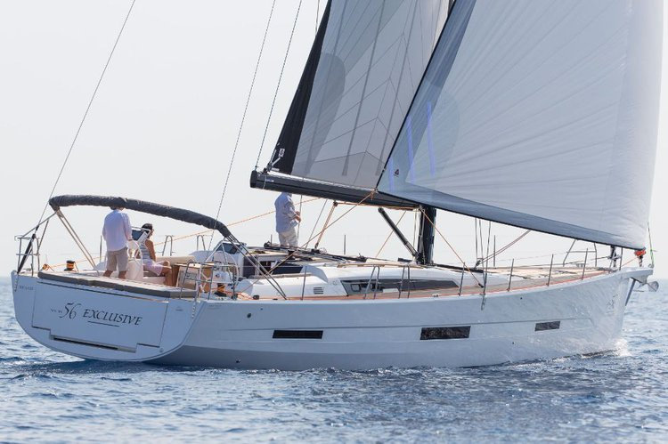 Discover Šibenik region surroundings on this Dufour Exclusive 56 Dufour Yachts boat