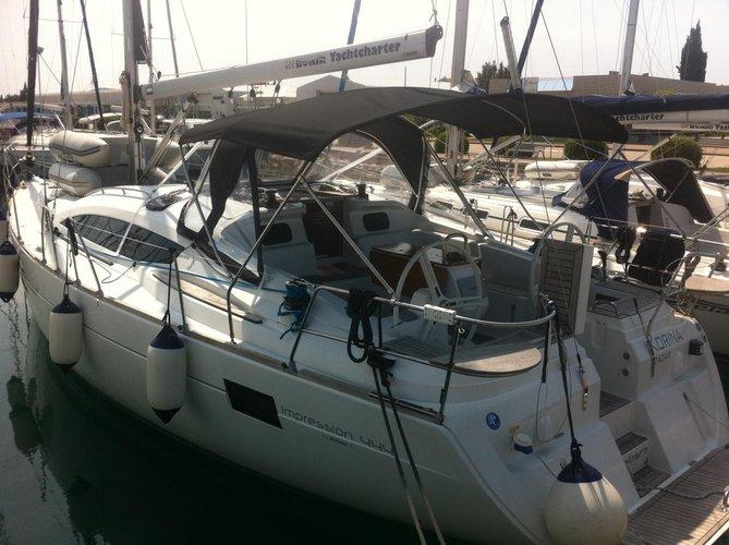 Boat for rent Elan Marine 45.0 feet in Marina Dalmacija, Sukosan, Croatia