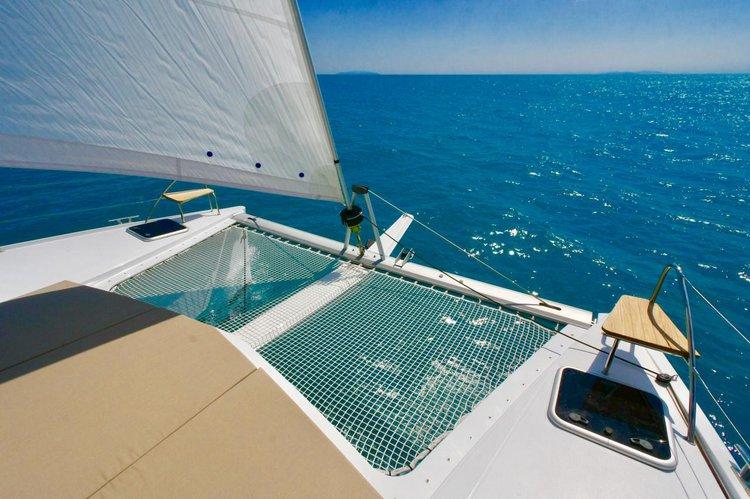 Catamaran boat rental in Campania,