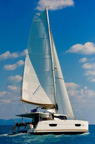 Discover Campania surroundings on this Fountaine Pajot Lucia 40 Fountaine Pajot boat