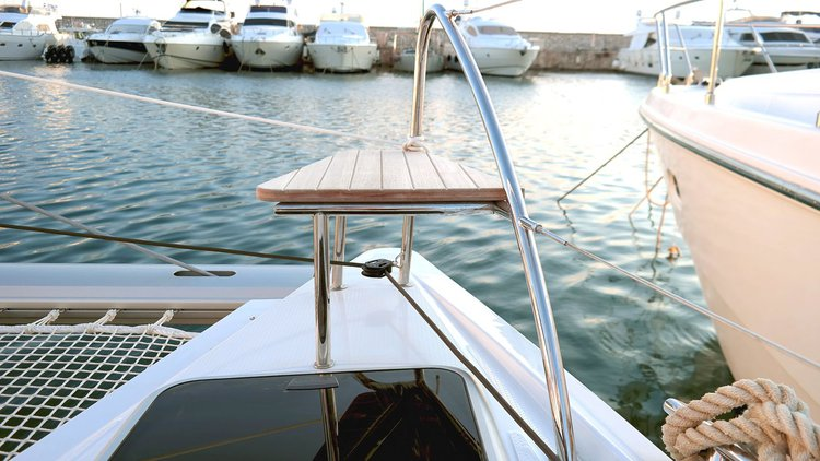 Boat for rent Fountaine Pajot 38.0 feet in Cyclades, Greece
