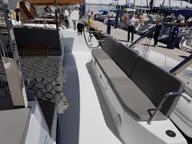 Catamaran boat rental in Marina Dalmacija, Sukosan, Croatia
