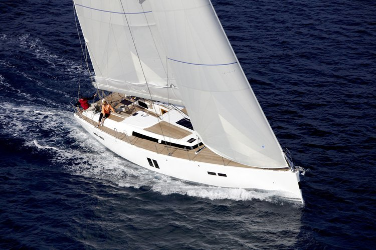 Discover Split region surroundings on this Hanse 545 Hanse Yachts boat