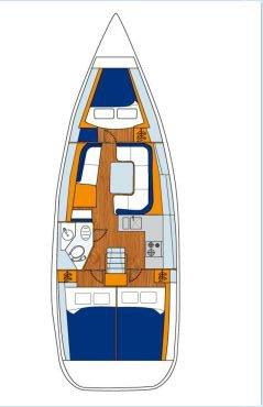 35.0 feet Jeanneau in great shape
