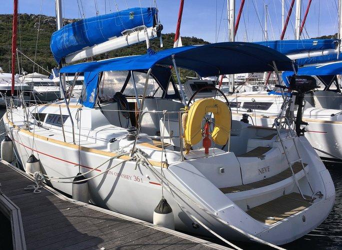 Boat for rent Jeanneau 35.0 feet in Marina Kremik, Primosten, Croatia