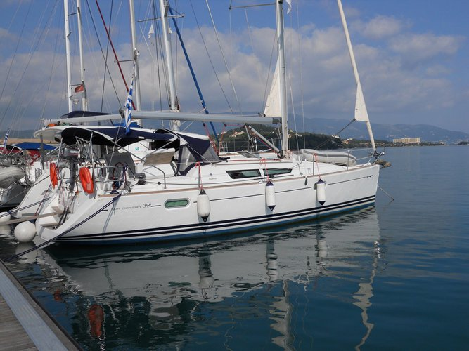 Charter this amazing Jeanneau Sun Odyssey 39i in Ionian Islands