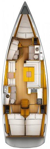 Boat for rent Jeanneau 43.0 feet in Athens - Marina Alimos (Kalamaki),