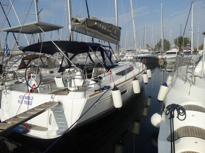Boat for rent Jeanneau 46.0 feet in Lefkas - Marina Lefkas,