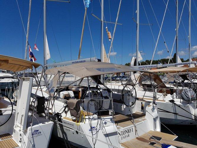 Discover Zadar region surroundings on this Sun Odyssey 469 Jeanneau boat