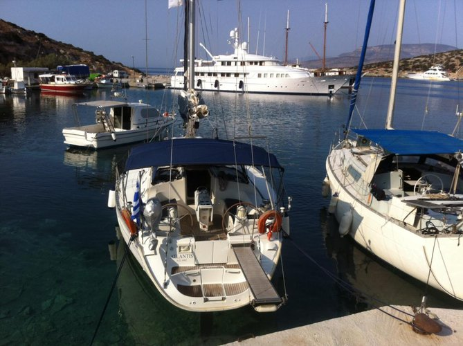 Enjoy luxury and comfort on this Jeanneau in Dodecanese
