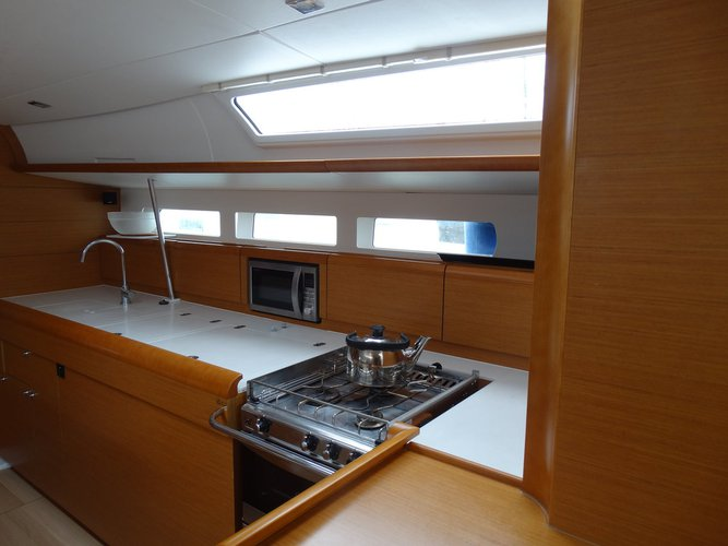 Boat for rent Jeanneau 50.0 feet in Marina Alimos (Kalamaki), Greece