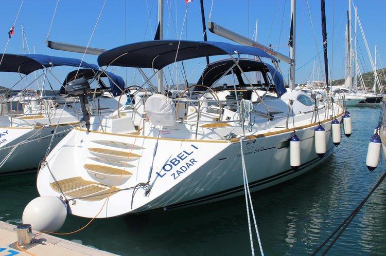 Boat for rent Jeanneau 54.0 feet in Yachtclub Seget (Marina Baotić), Seget Donji,