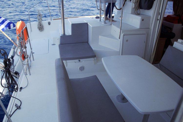 Catamaran boat rental in Marina Alimos (Kalamaki),
