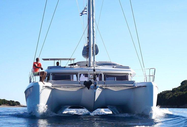 Boat for rent Lagoon-Bénéteau 41.0 feet in Lefkas - Marina Lefkas,