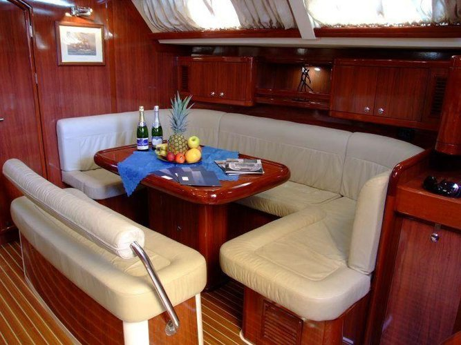 Discover Saronic Gulf surroundings on this Ocean Star 56.1 Ocean Star boat