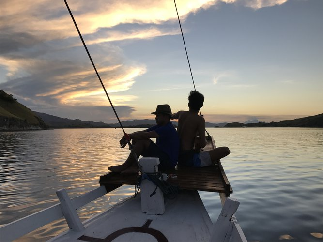 Classic boat for rent in Labuan Bajo