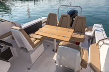 thumbnail-7 Axopar 24.0 feet, boat for rent in Split region, HR