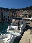 Cruise Šibenik region waters on a beautiful Cranchi